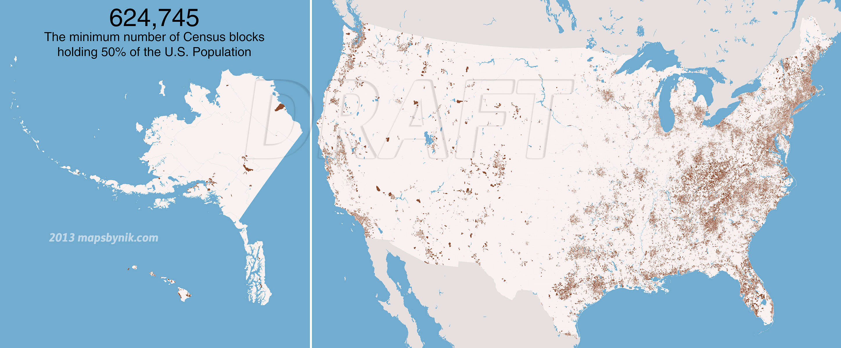 Nobody Lives Here The Nearly Million US Census Blocks With - Us census block map